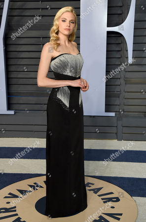Mackenzie Mauzy arrives at the Vanity Fair Oscar Party, in Beverly Hills, Calif