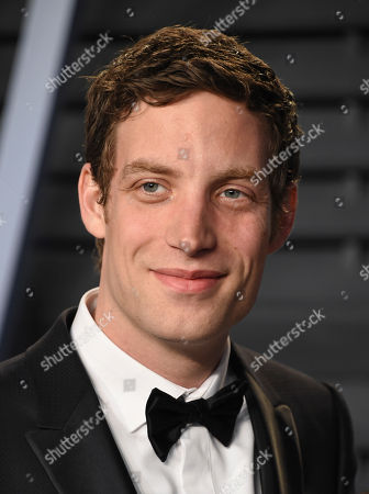 James Jagger arrives at the Vanity Fair Oscar Party, in Beverly Hills, Calif