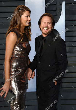 Jill McCormick, Eddie Vedder. Eddie Vedder and wife Jill McCormick arrive at the Vanity Fair Oscar Party, in Beverly Hills, Calif