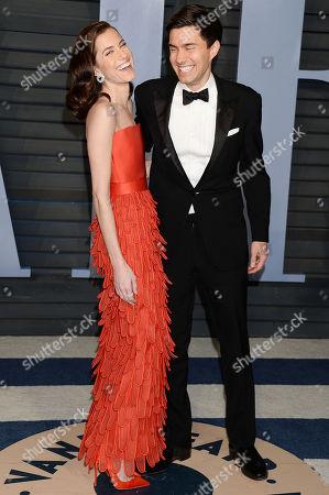 Allison Williams and Ricky Van Veen