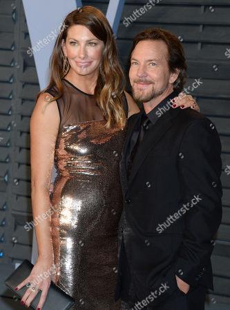 Eddie Vedder and wife Jill McCormick