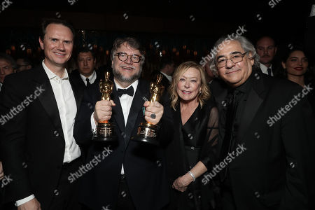 Chief Executive Officer of Fox Networks Group Peter Rice, Guillermo Del Toro, Fox Searchlight President Nancy Utley, Fox Searchlight President Steve Gilula