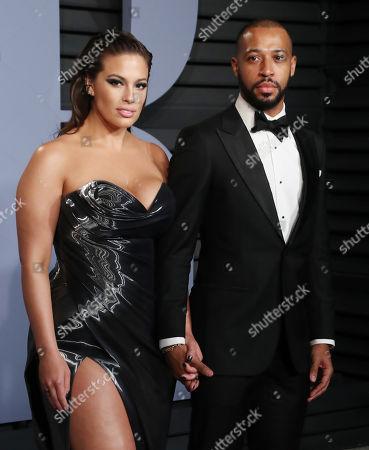 Ashley Graham and husband Justin Ervin
