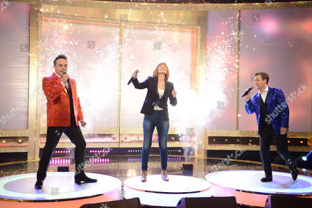 Anthony McPartlin and Declan Donnelly Duet Duel with Kiki Dee