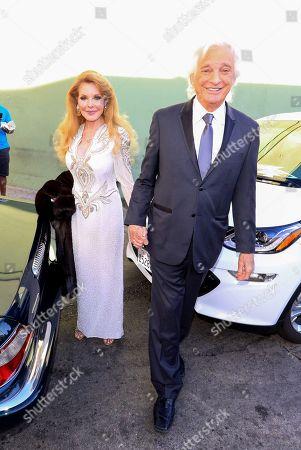Stock Photo of Rebecca Holden and Joel Diamond