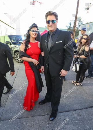 Sean Kanan and Michele Vega