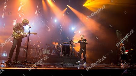 Editorial picture of Imagine Dragons in concert at the SSE Hydro, Glasgow, Scotland, UK - 04 Mar 2018