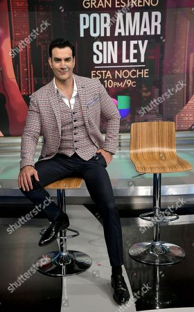 Stock Picture of David Zepeda