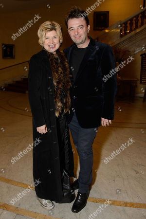 Editorial photo of 'The Best Man' Press Night at The Playhouse Theatre and afterparty at The Horseguards Hotel, London, UK - 05 Mar 2018