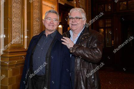 Martin Shaw and Bill Kenwright