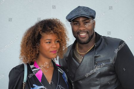 Stock Picture of Luthna Plocus and Teddy Riner