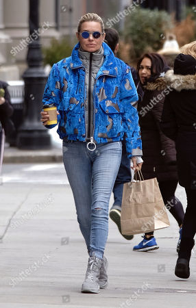 Editorial image of Yolanda Foster out and about, New York, USA - 05 Mar 2018