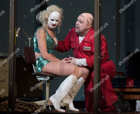 Editorial photo of 'From the House of the Dead' Opera by Leos Janacek, directed by Krzysztof Warlikowski at the Royal Opera House, London, UK, 05 Mar 2018
