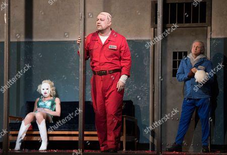 Allison Cook, Johan Reuter as Siskov, Alexander Kravets as Cerevin