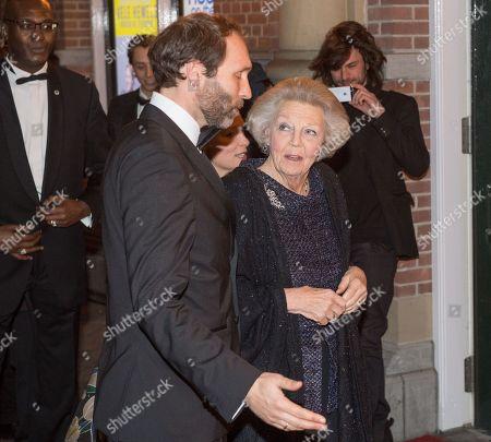 Princess Beatrix and Tjalling ten Cate