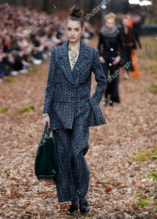 Editorial picture of Chanel - Runway - Paris Fashion Week Ready to Wear F/W 2018/2019, France - 06 Mar 2018