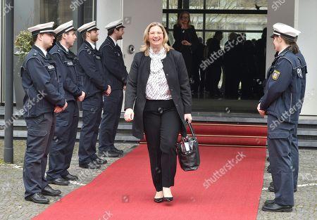 Editorial photo of President of Germany visits the Saarland federal state, Saarbrucken, Germany - 06 Mar 2018