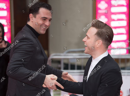 Darius Campbell and Olly Murs