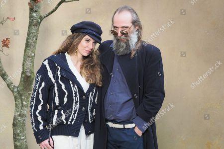 Amandine de la Richardiere and Sebastien Tellier