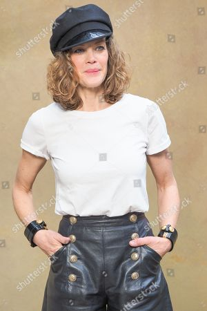Editorial image of Chanel show, Photocall, Paris Fashion Week, France - 06 Mar 2018