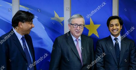 Editorial picture of ArcelorMittal chairman Lakshmi N. Mittal at EU commission, Brussels, Belgium - 06 Mar 2018