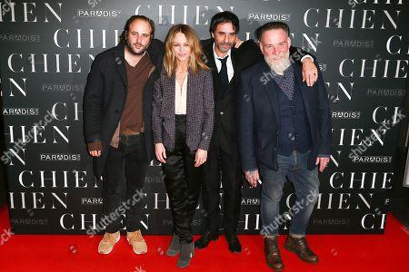 Editorial image of 'Chien' film premiere, Paris, France - 05 Mar 2018