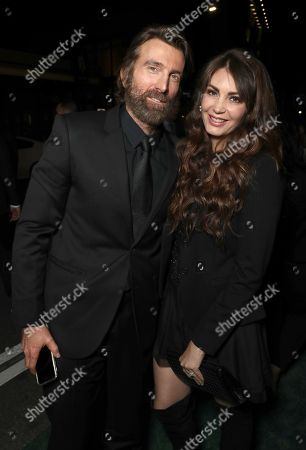 Sharlto Copley and Tanit Phoenix