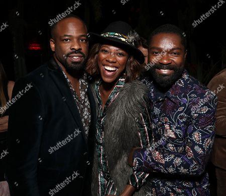 Chike Okonkwo, Yvonne Orji and David Oyelowo
