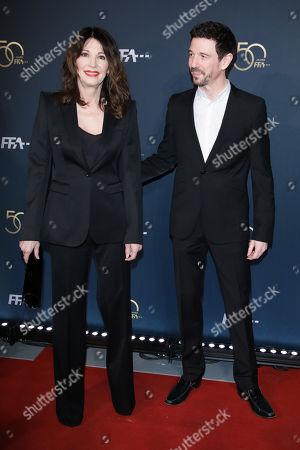 Iris Berben mit Sohn Oliver
