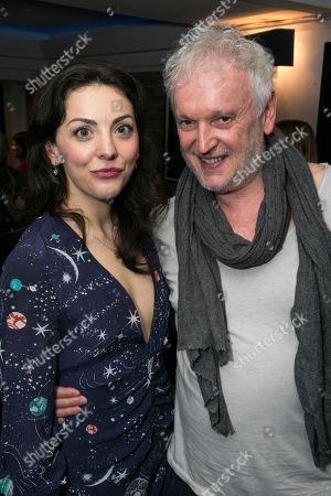 Naomi Sheldon (Performer/Author) and Sean Mathias