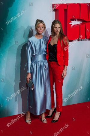 Stock Picture of Caroline Weinberg (L) and Teodora Berglund (R)