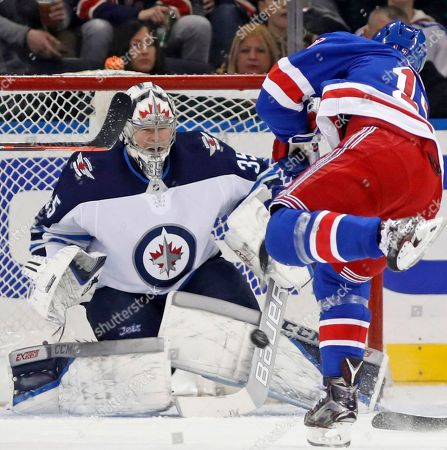 Editorial picture of Jets Rangers Hockey, New York, USA - 06 Mar 2018