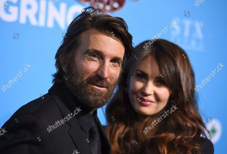 "Sharlto Copley, Tanit Phoenix. Sharlto Copley, left, and Tanit Phoenix arrive at the Los Angeles premiere of ""Gringo"" at Regal L.A. Live on"