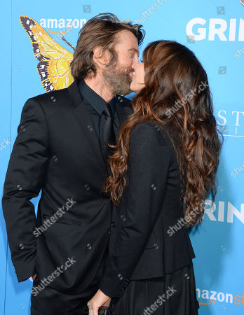 Sharlto Copley and wife Tanit Phoenix