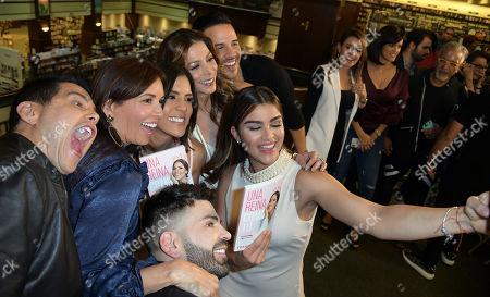Editorial image of Francisca Lachapel book signing, Miami, USA - 06 Mar 2018