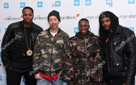 Editorial picture of WE Day, Arrivals, Wembley Arena, London, UK - 07 Mar 2018