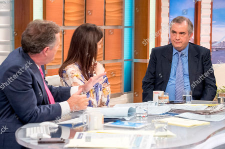 Piers Morgan, Susanna Reid and Alexander Nekrassov