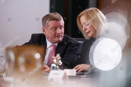 Editorial image of Weekly cabinet meeting, Berlin, Germany - 07 Mar 2018