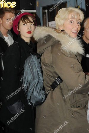 Emma Thompson with her daughter Gaia Wise
