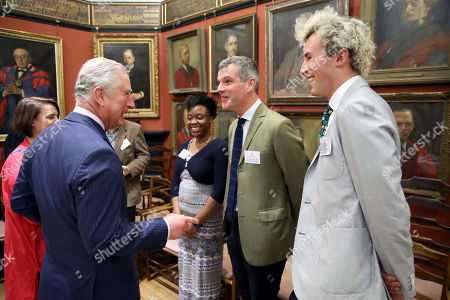 Editorial image of Prince Charles visits The Art Worker's Guild, London, UK - 07 Mar 2018