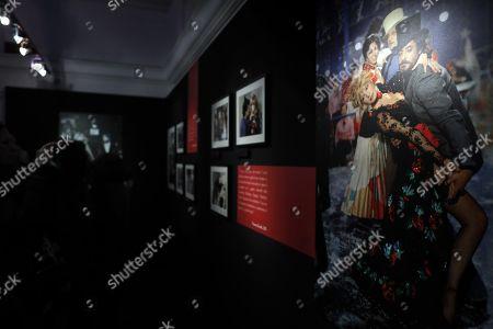 Editorial photo of Photo exhibition La dolce Vitti in Rome, Italy - 07 Mar 2018