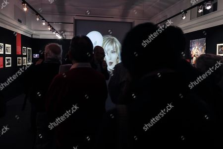 A view inside the photo exhibition 'La dolce Vitti' on Italian actress Monica Vitti at Teatro dei Dioscuri at Quirinal Palace in Rome, Italy, 07 March 2018. The exhibition runs from 08 March to 10 June. Monica Vitti is best known for her roles in films in the early 1960s.