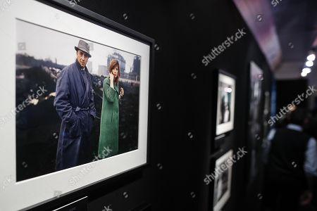 Editorial picture of Photo exhibition La dolce Vitti in Rome, Italy - 07 Mar 2018