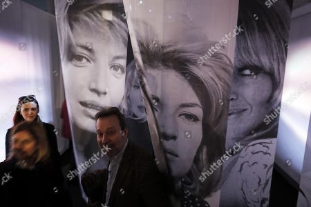 Stock Picture of A view inside the photo exhibition 'La dolce Vitti' on Italian actress Monica Vitti at Teatro dei Dioscuri at Quirinal Palace in Rome, Italy, 07 March 2018. The exhibition runs from 08 March to 10 June. Monica Vitti is best known for her roles in films in the early 1960s.