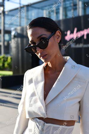 Editorial image of Street Style, Virgin Australia Melbourne Fashion Festival, Australia - 07 Mar 2018