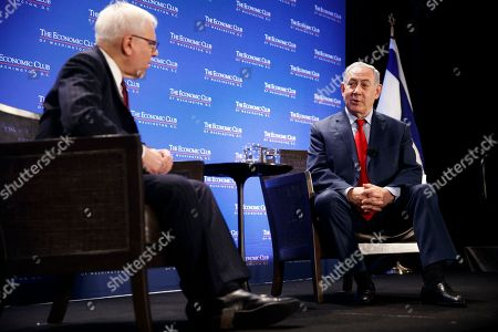 Benjamin Netanyahu and David M. Rubenstein