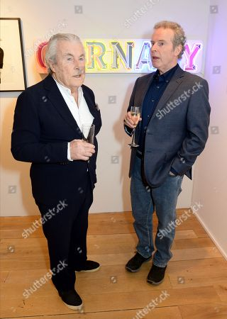 Stock Picture of Terry O'Neill and Gered Mankowitz