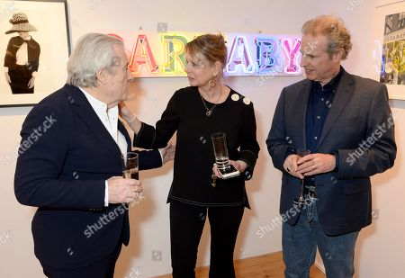 Stock Image of Terry O'Neill, Zelda Cheatle and Gered Mankowitz