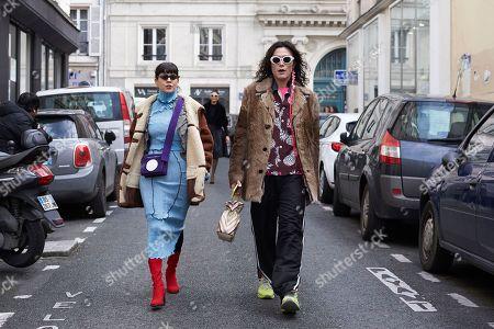 Giorgia Cantarini and Yu Masui