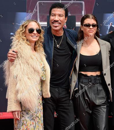 Lionel Richie, Nicole Richie, Joel Madden, Sofia Richie